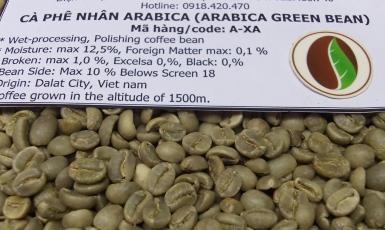 Cà phê nhân Arabica