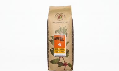 Cà phê bột nguyên chất Arabica rang đậm